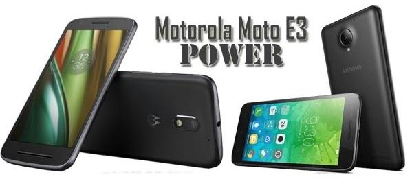 Harga HP Lenovo Moto E3 Power Tahun 2017 Lengkap Dengan Spesifikasi dan Review, Layar 5 Inchi, Memori 16GB, RAM 2GB