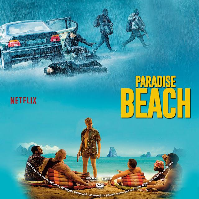 Paradise Beach DVD Label