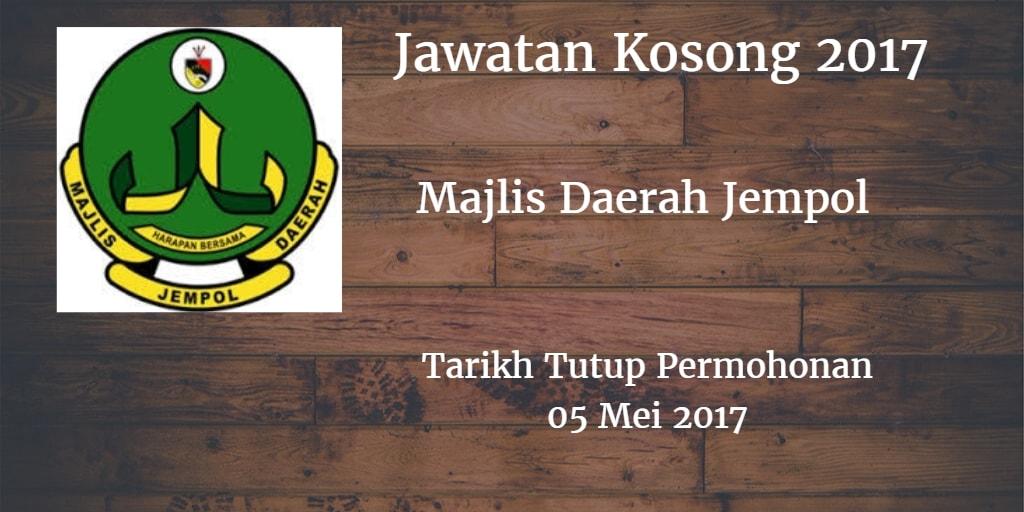 Jawatan Kosong MDJL 05 Mei 2017