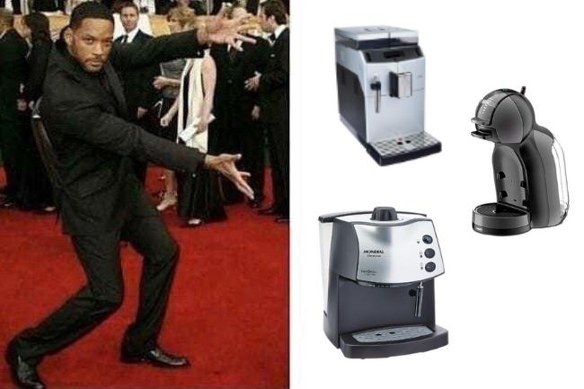 Apresento-lhes as Maquinas de café expresso da atualidade