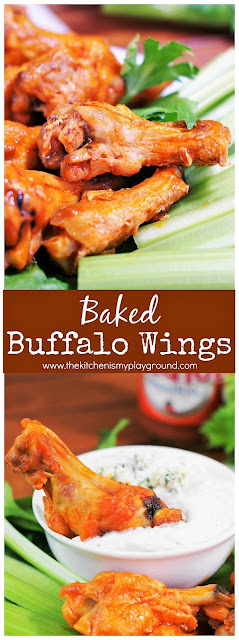 Baked Buffalo Wings picture