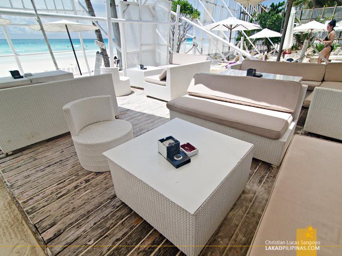 White House Boracay Beach Front Lounge