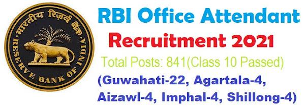BRI Office Attendent 2021