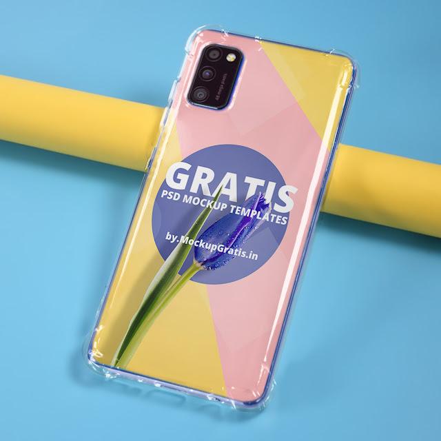 Mockup Case Anticrack Samsung A41