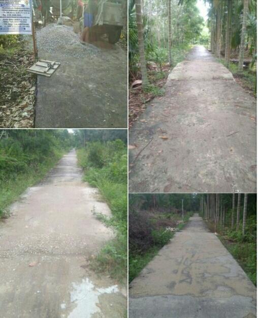 Warga kecewakan kenirja Pemdes Tanjung Pisang, Mubazir dan Terindikasi Mark-up Dana Desa