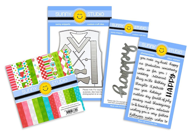 Sunny Studio Stamps: Seasons Giving Blog Hop Giveaway