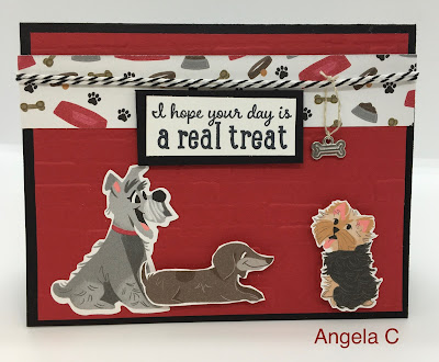 Stampin' Up!, Playful Pets Suite, Pampered Pets Bundle, Dogs, www.stampingwithsusan.com,