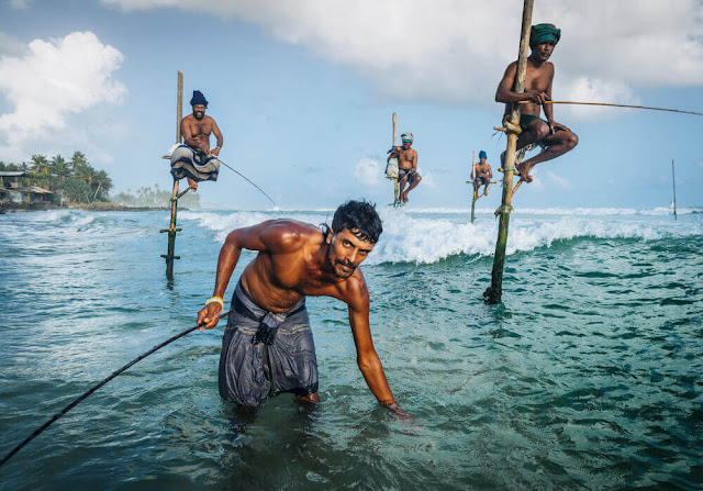 صيد الاسماك سريلانكا