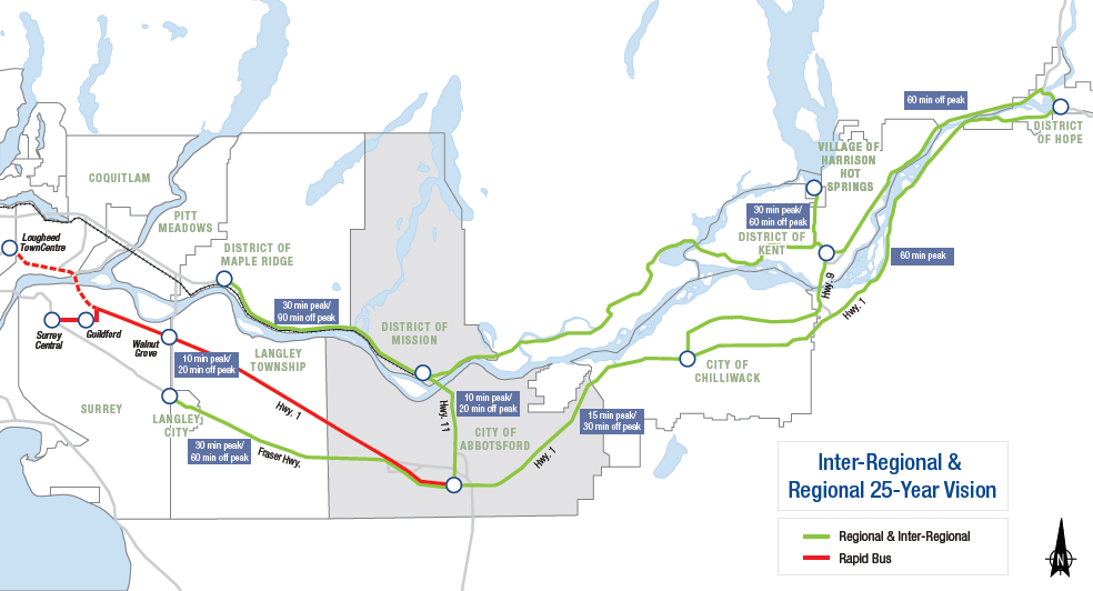 The South Fraser Blog Future transit plan for Abbotsford and Mission