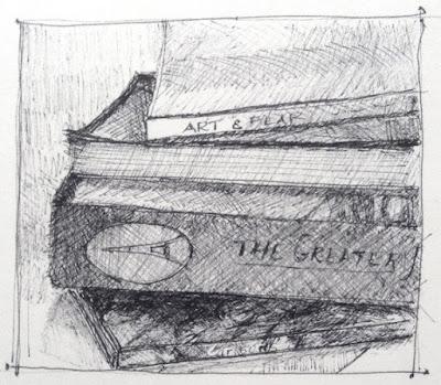Sketch of books - N. Van Blaricom