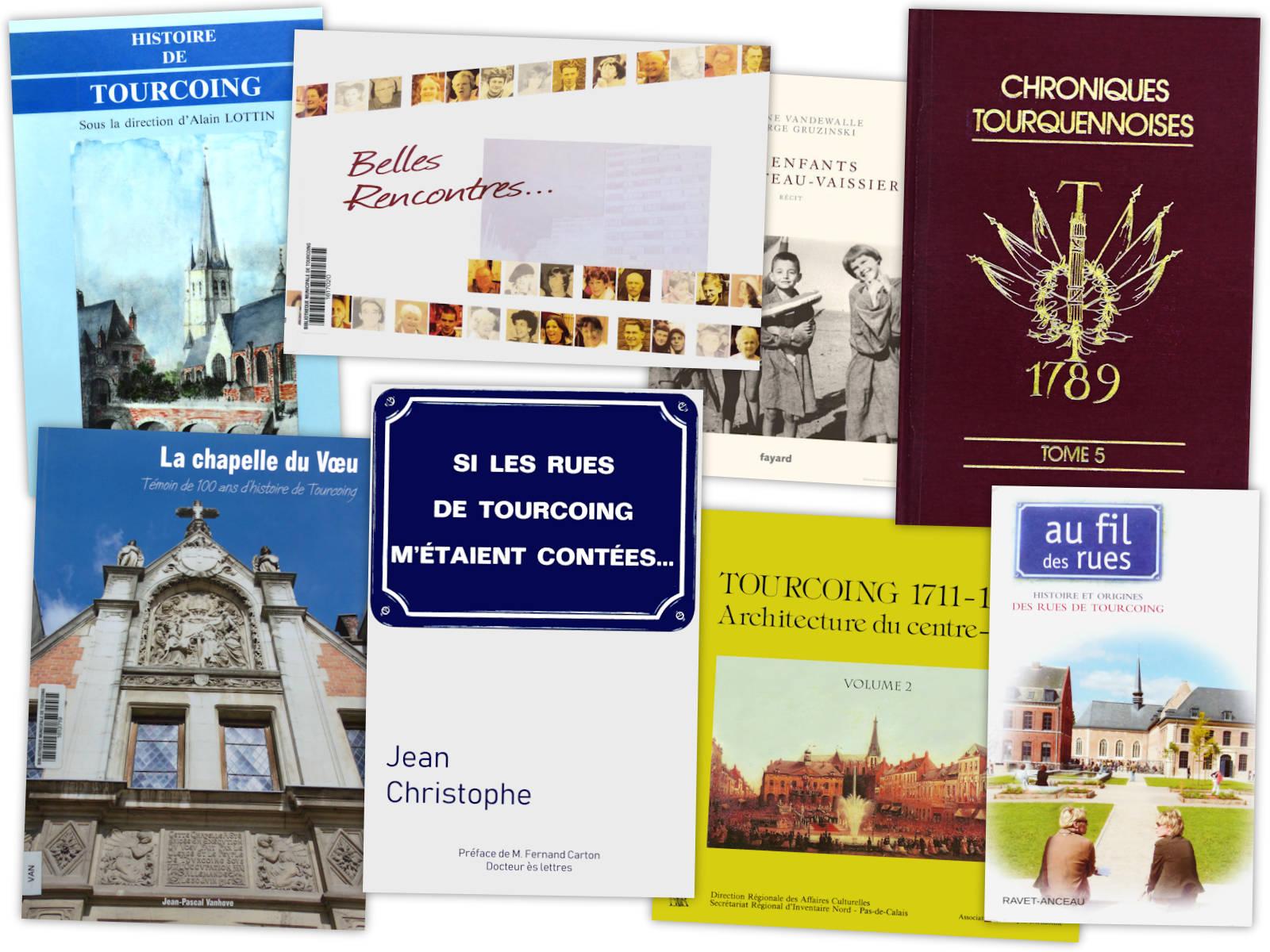 Livres sur Tourcoing - Partie 1