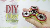 Cara Bikin Fidget Spinner Sendiri Dari Barang Bekas