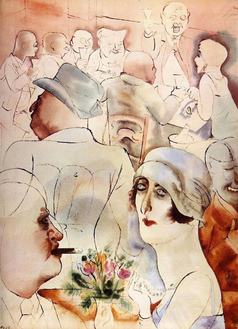 10 ilustradores más reconocidos, George Grosz