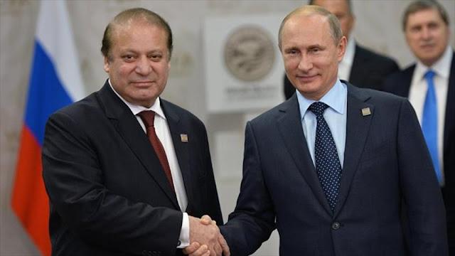 Paquistán se acerca a Rusia y disminuye lazos militares con EEUU