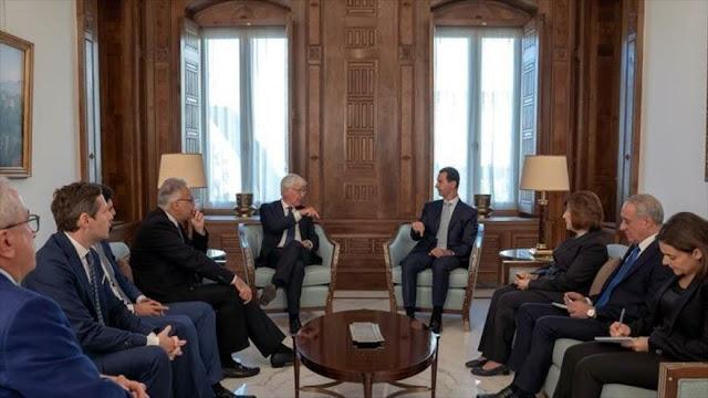 Al-Asad denuncia postura irreal de europeos respecto a Siria