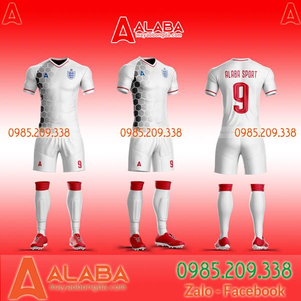 Áo bóng đá màu trắng hàng Thái Lan