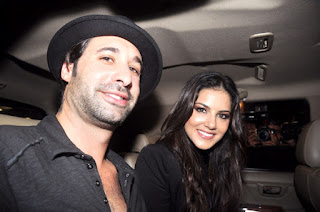 Sunny Leone husband photo