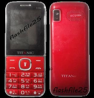Titanic T-110 Flash File MT6261DA