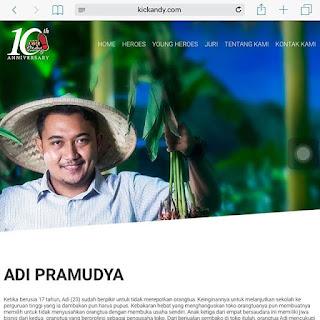 Adi Pramudya sukses budidaya remah rempah