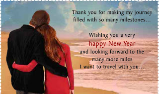 Happy New Year Wishes for Lovers