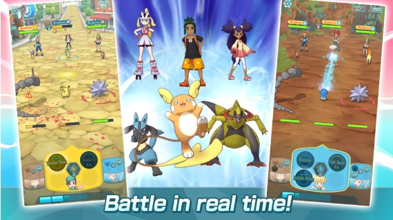 Pokemon Masters hits 10 million downloads in four days