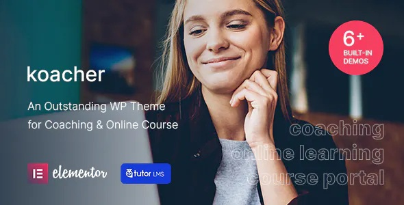 Best Coaching and Online Course WP Theme