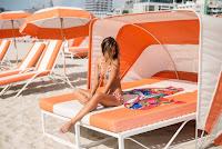 Rachel Barnes Agua Bendita bikini models photoshoot