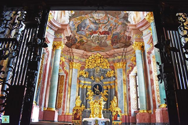 Capilla de la iglesia de San Vicente y San Jaime en Wroclaw