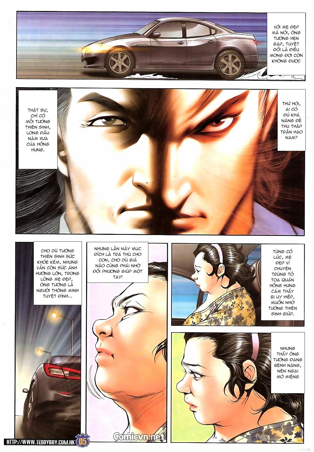 Người Trong Giang Hồ chapter 1642: anh hùng khí đoản trang 4