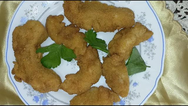 طريقة عمل سمك الفيلية الاحمر المقرمش الشيف محمد الدخميسي