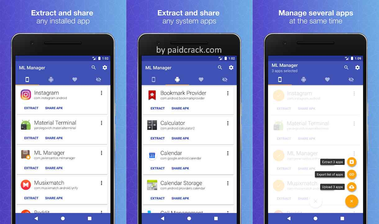 ML Manager Pro: APK Extractor Mod Apk 3.5.3 [Paid]