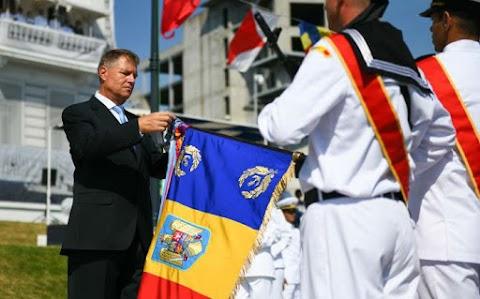 A Fekete-tenger védelmének fontosságáról beszélt Johannis a tengerészet ünnepén