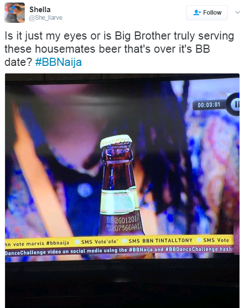 #BBNaija: Is Big Brother Serving The Housemates Expired Drinks? See photos.
