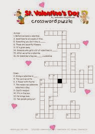 Valentines Crossword 8