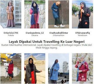 Koleksi Jaket Muslimah