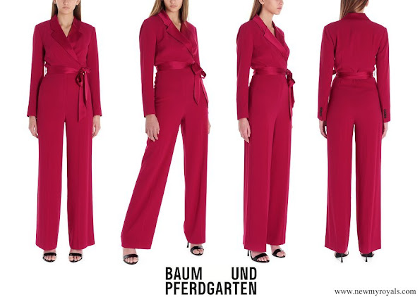 Crown Princess Elisabeth wore Diane von furstenberg Monica jumpsuits