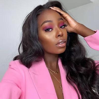 maquiagem colorida para mulher negra