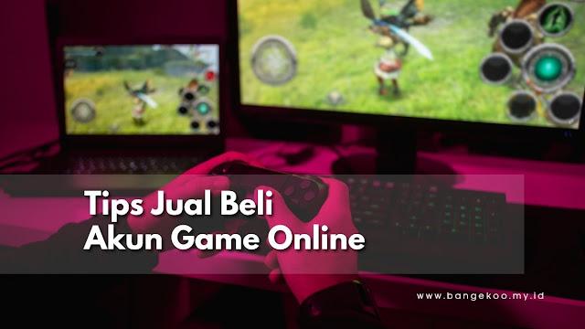 jual beli akun game online