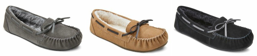 Mossimo Moccasin Slippers $11 (reg $20)