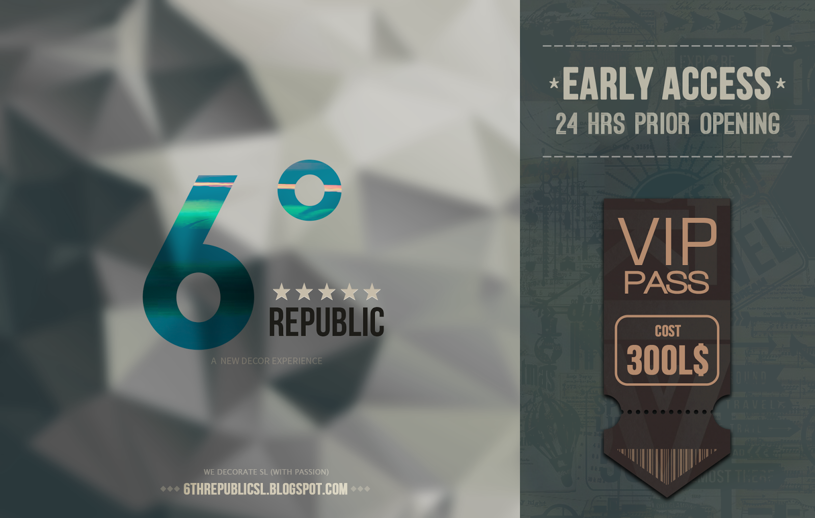6º Republic - VIP Pass