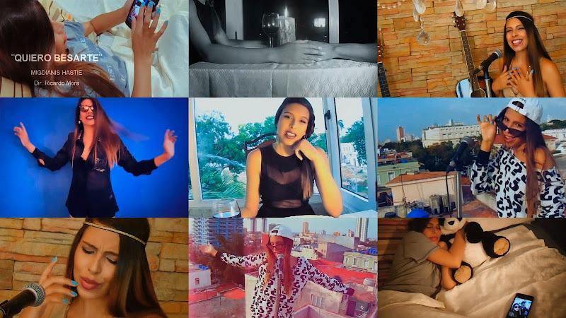 Migdianis Hastie - ¨Quiero besarte¨ - Videoclip - Director: Ricardo Mora. Portal Del Vídeo Clip Cubano