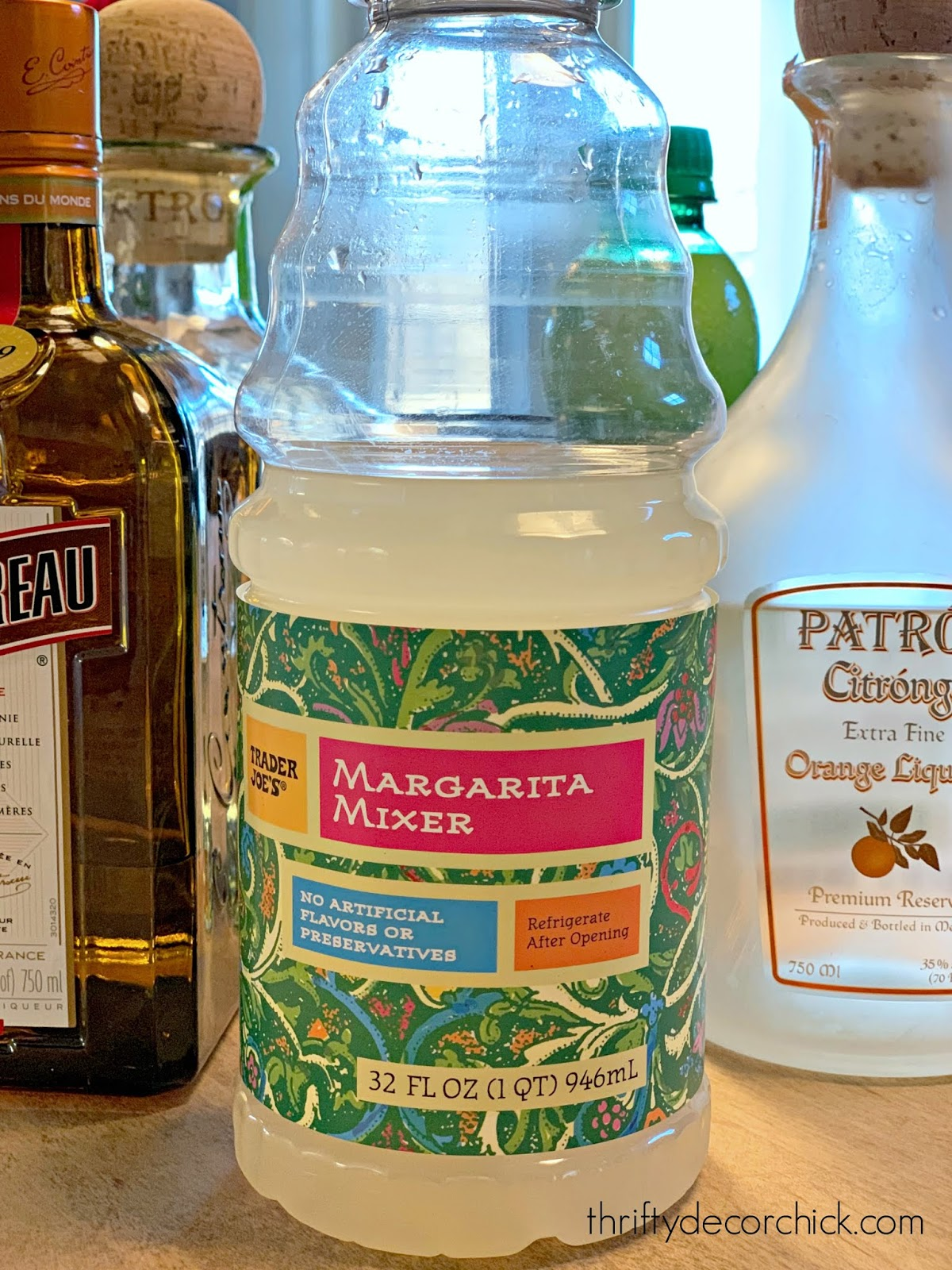 Trader Joe's margarita mix