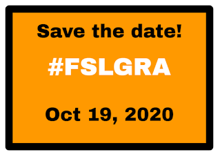Save the date iamge for FSLGRA - Begins Oct 19, 2020