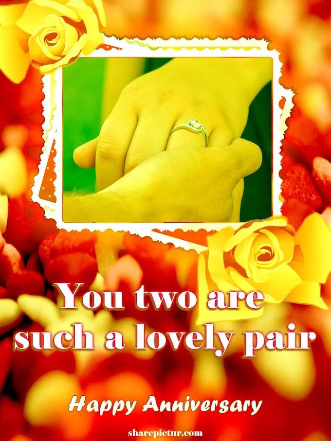 Wishing happy wedding anniversary