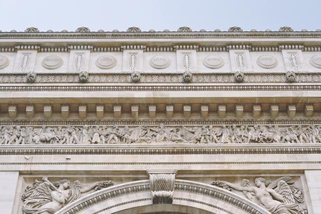 Arc de Triomphe architecture