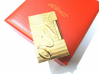 Korek Api Mewah S.T. Memorial Dupont Seri TH74 James Bond 007 With Luxury Box