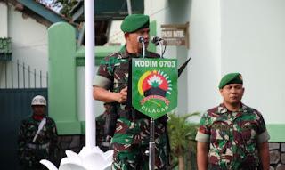Kasdim 0703/Cilacap, Mayor Inf. Ahmad Rofik Alfian