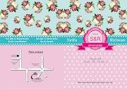 Desain Undangan Pink Free CDR
