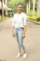 Rakul Preet Singh in Jeans and White Shirt At Jaya Janaki Nayaka le Logo Launch ~  Exclusive 048.JPG