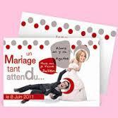 Texte faire part mariage humoristique